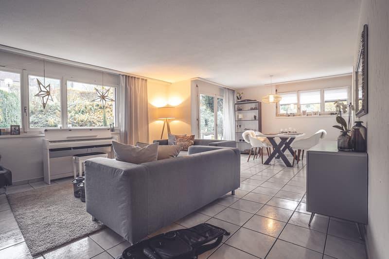 Schöne 4,5 Zimmer-Wohnung im Zentrum von Adligenswil