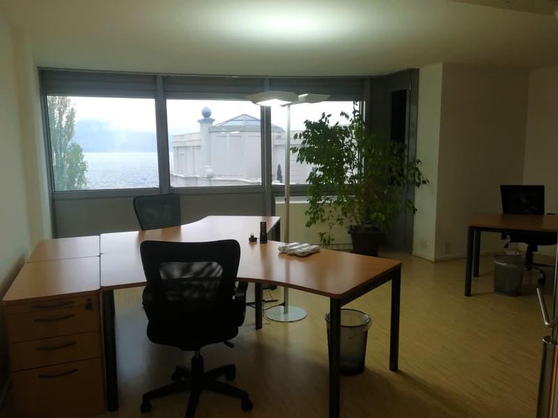 Vaud bureaux au coeur de Montreux, vue sur le lac