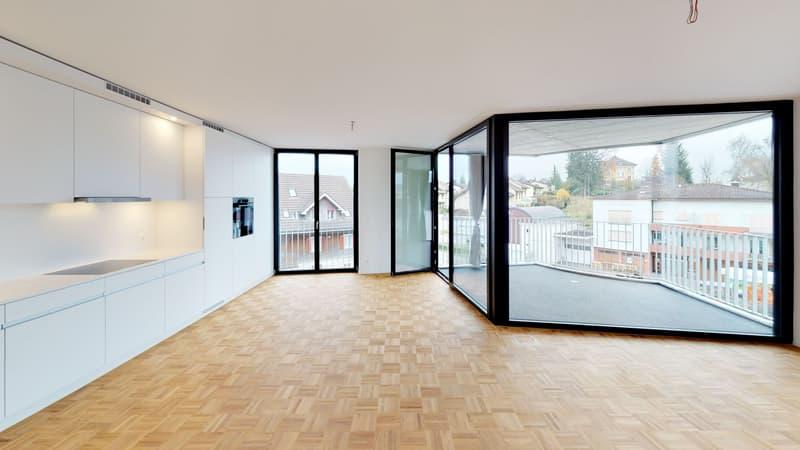 Jetzt virtuell besichtigen - Erstbezug 3.5-Zimmer-Wohnungen