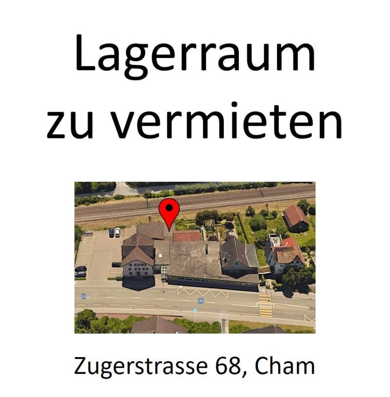 Lagerraum in Cham (befristet bis Herbst 2021)