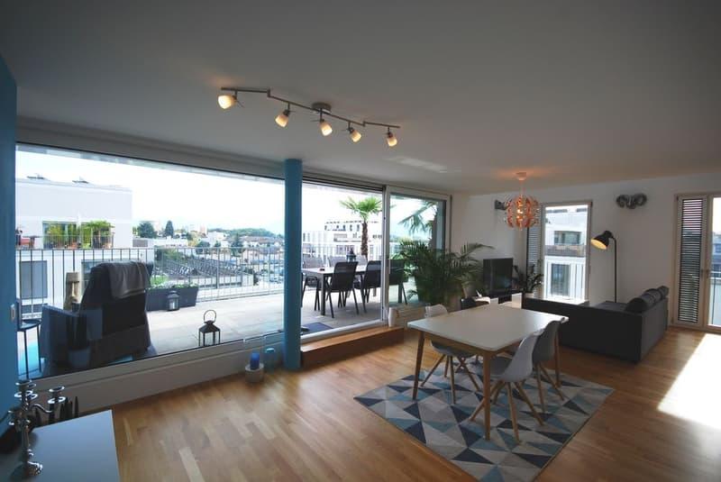 3.5 pièces Duplex attique