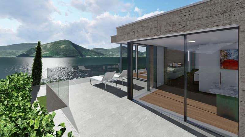 Nuovo appartamento con bellissima vista lago