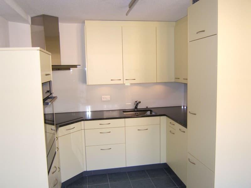 Gemütliche 3-Zimmer-Wohnung in Zürich-Wiedikon mit Cheminée und Balkon