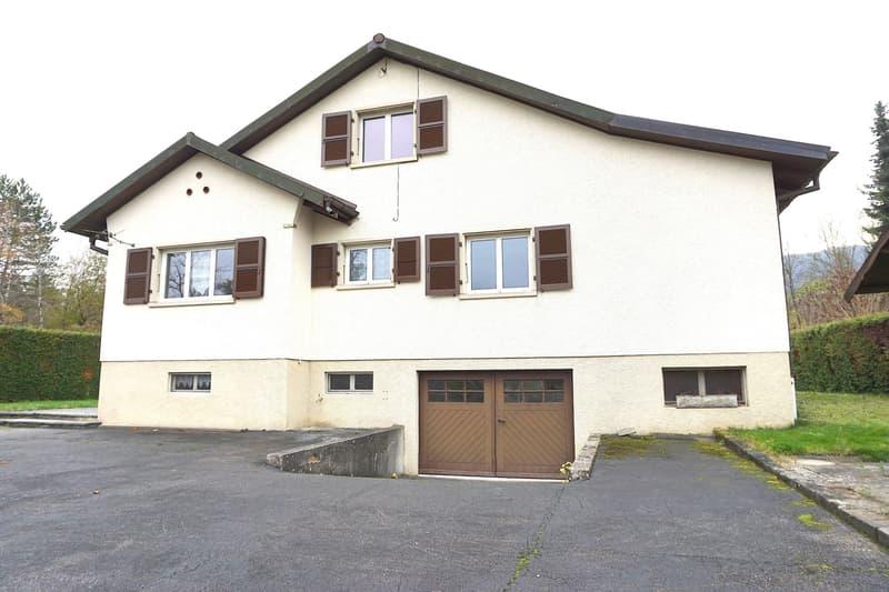 Maison familiale à Bassecourt