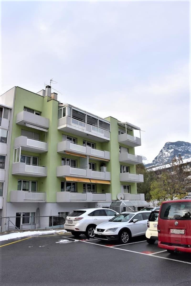 Grosse Familienwohnung oder Büro auf zwei Etagen in Toplage von Brig