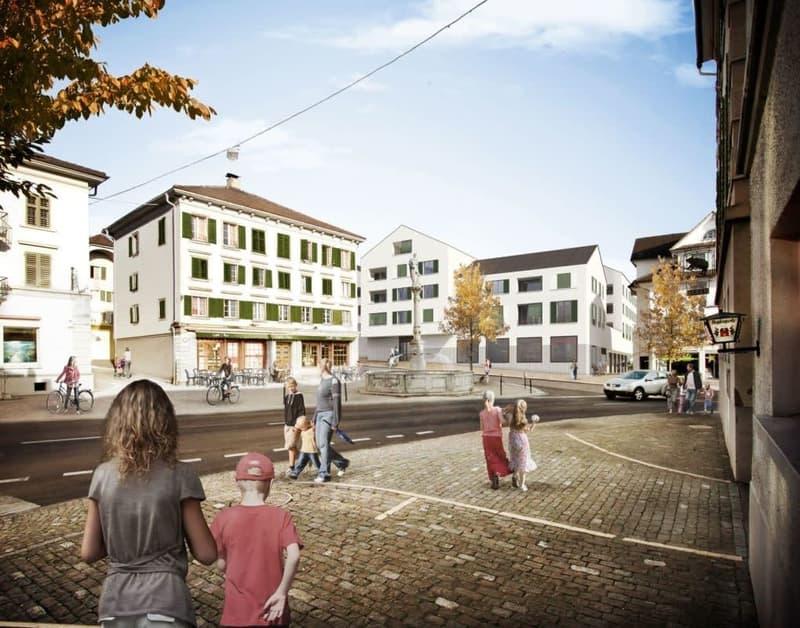 Verkaufsflächen an absoluter Top-Lage in Ruswil
