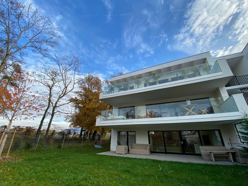 Cologny - Appartement neuf de 3,5 pièces avec jardin