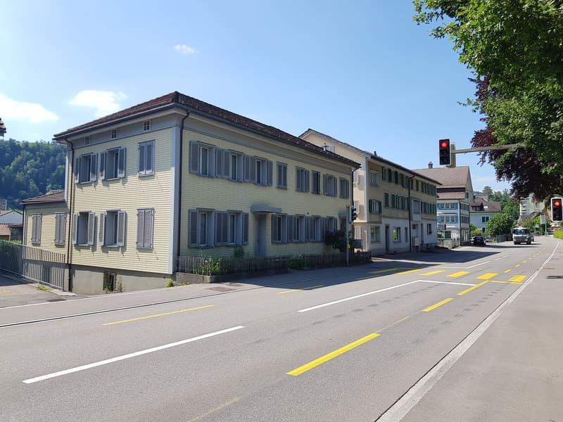 Renditeliegenschaften mit attraktiver Neubau-Möglichkeit im Herzen von Wattwil