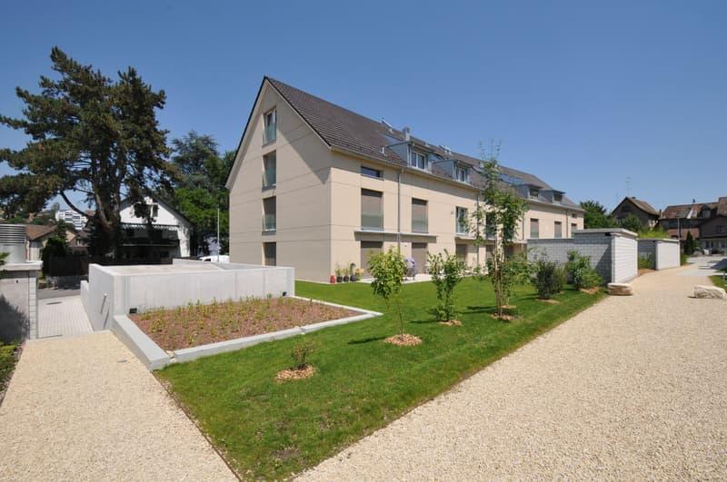 Moderne 4.5-Zimmer-Maisonette-Wohnung im steuergünstigen Feuerthalen