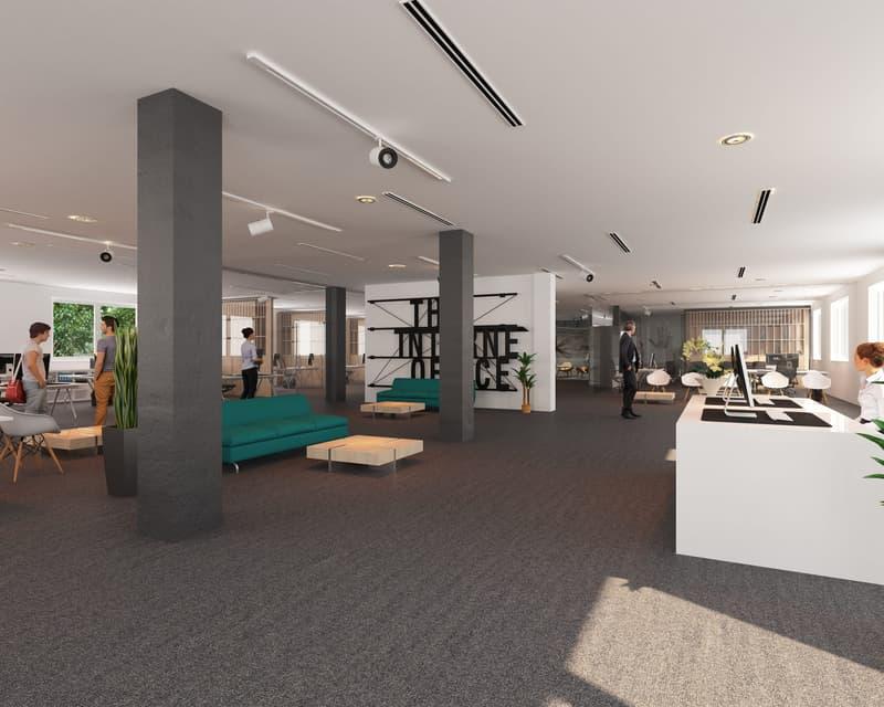 Gestalten Sie mit - Büroflächen für Individualausbau