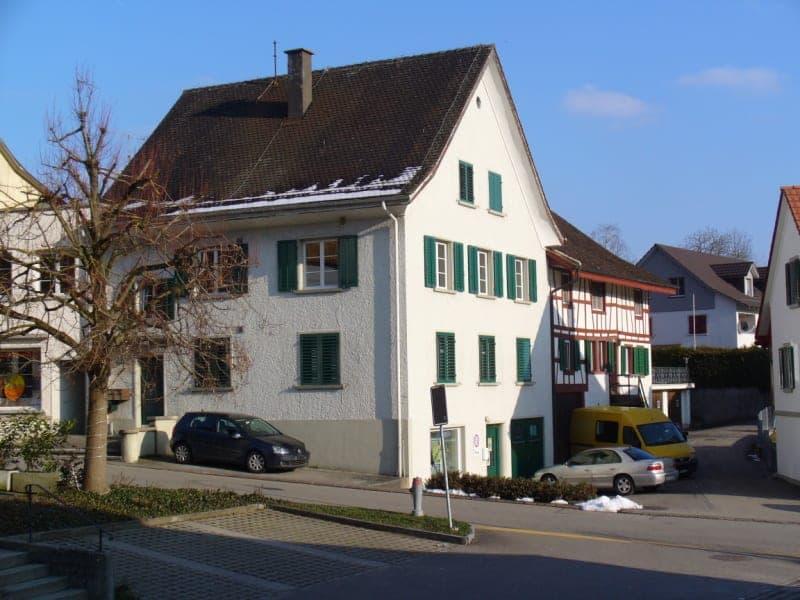Im Dorfkern von Glattfelden