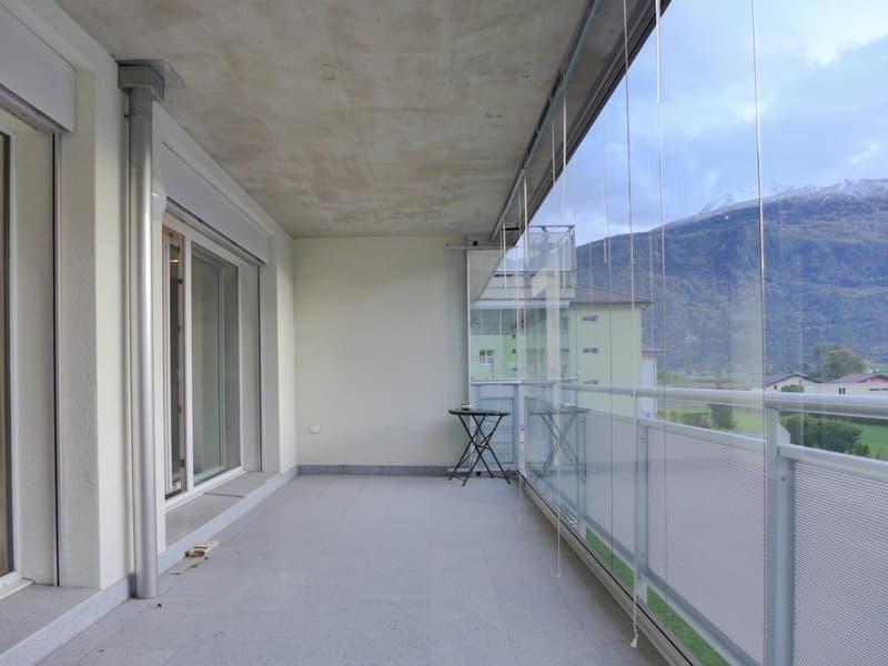 Spacieux balcon