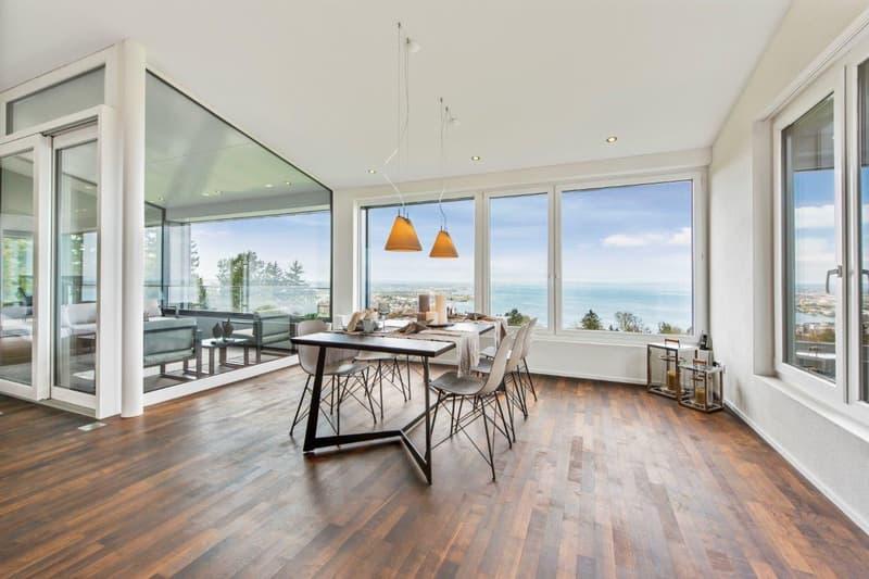 Moderne Wohnoase mit fantastischem Bodenseepanorama