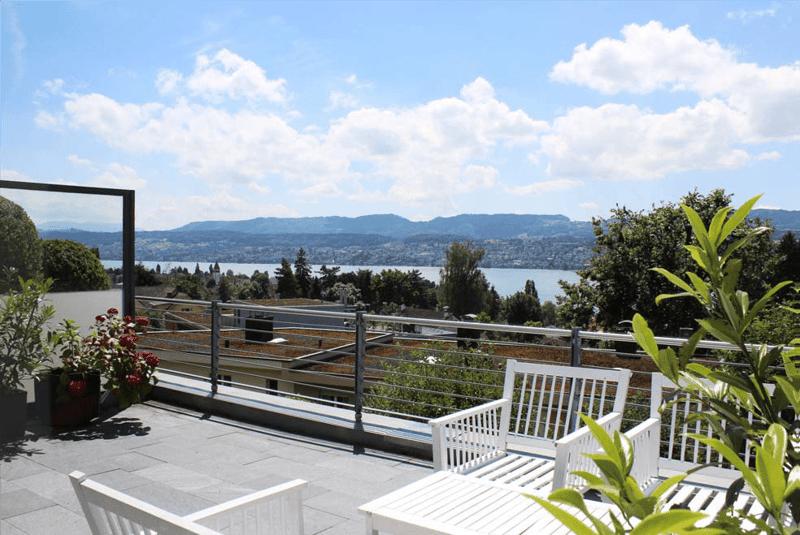 Möblierte Wohnung für 12 Monate zu vermieten - grosszügig mit sonniger Terrasse und Seesicht