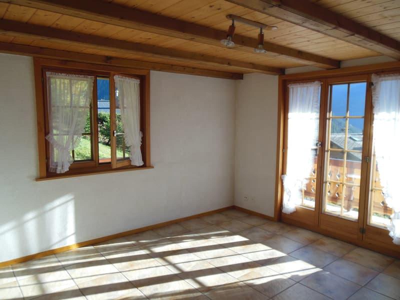 Living-Room avec cheminée