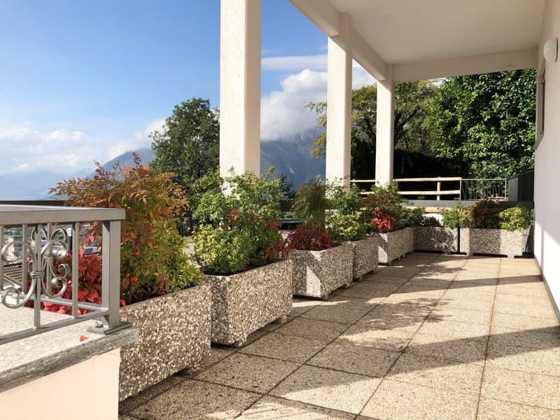 Ampio e luminoso 2.5 locali con splendida vista a Giubiasco