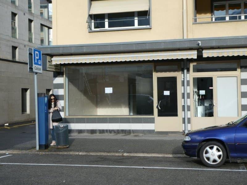 Jolie arcade commerciale en plein centre de Martigny
