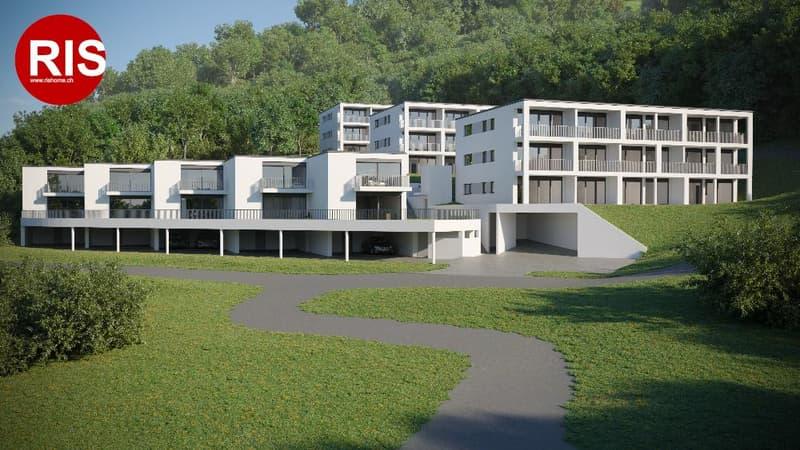 Nuovo Monolocale in Residenza Verde a Lugano Pazzallo. Consegna pri...