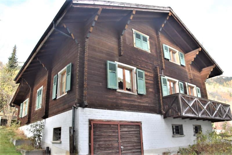 Erschwingliches Zweifamilienhaus inmitten der Aletsch Arena