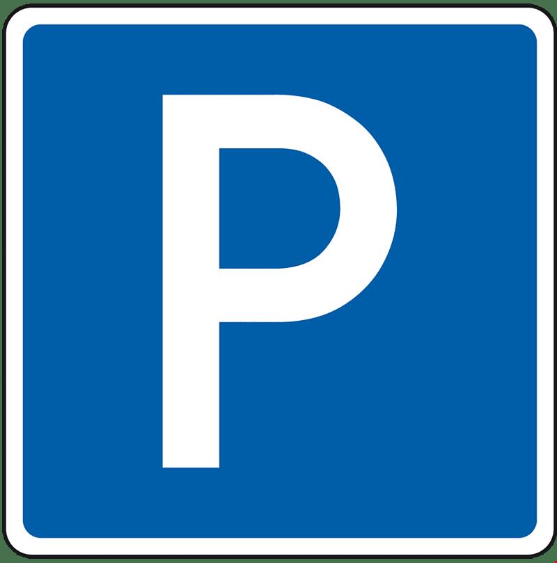 Motorrad-Abstellplatz in Pfaffnau