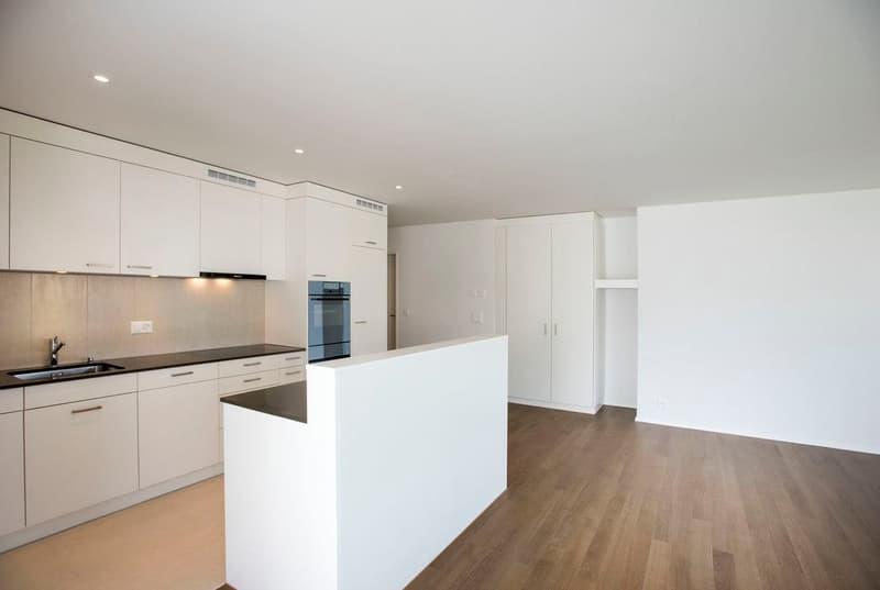 Beispielbild Wohnzimmer mit Küche