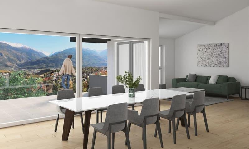 EXCLUSIVITE - Savièse - Magnifique appartement 4½ pièces avec terrasse (1)