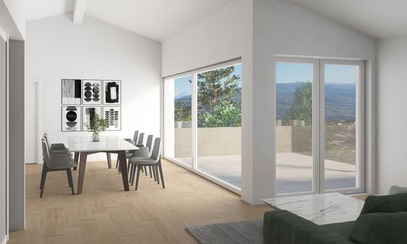 EXCLUSIVITE - Savièse - Magnifique appartement 4½ pièces avec terrasse (3)