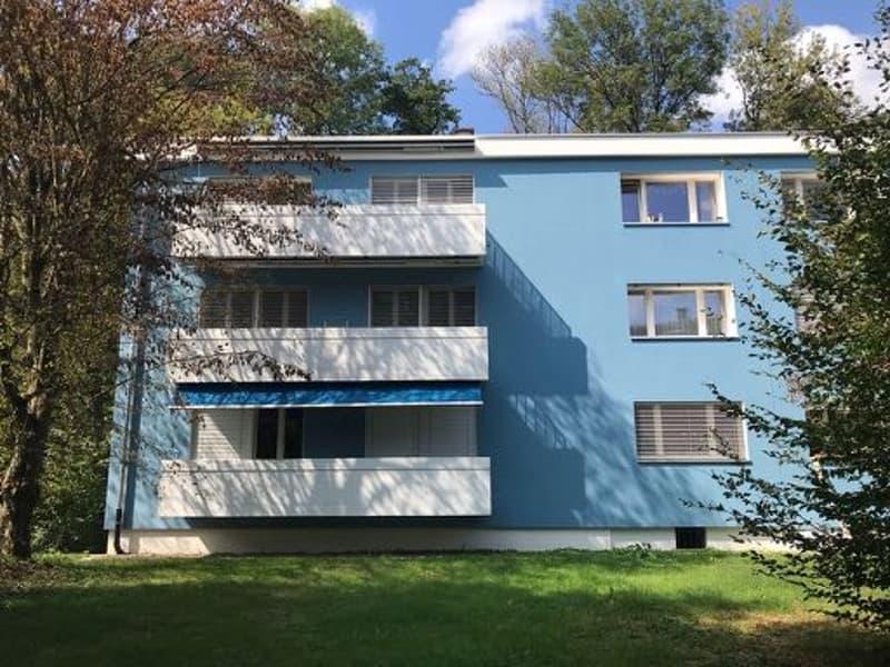 Sehr ruhige 3 Zimmerwohung mit 2 Balkonen und Sicht in Grüne
