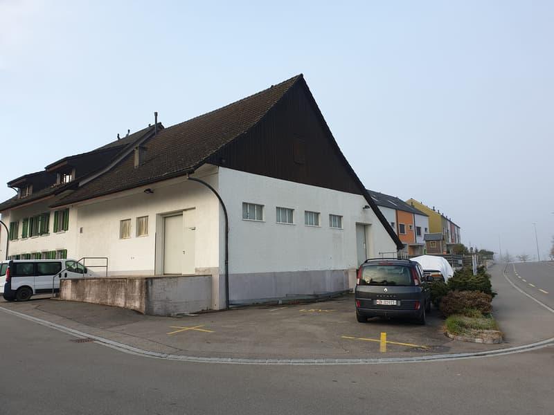 Professioneller Kühlraum mit 130m2 an der Grenze ZH / AG