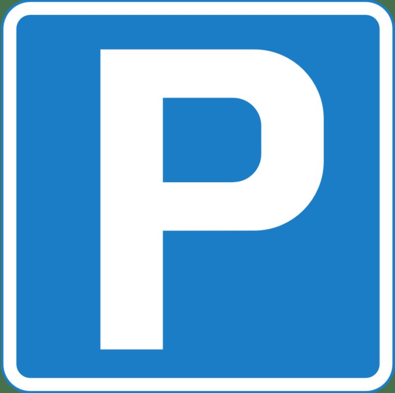Aussenparkplatz in Trübbach