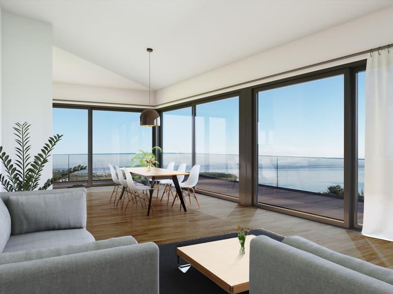 Splendide appartement haut de gamme avec vue sur les Alpes