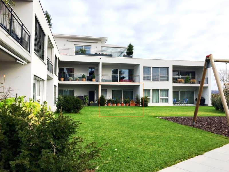 Erstklassige, topmoderne 2-Zimmer Wohnung mit sonniger Gartenterrasse