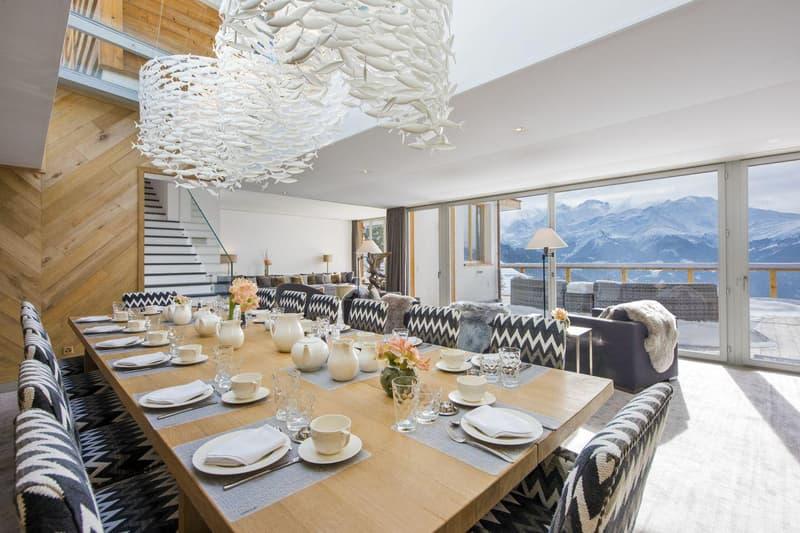 À LOUER Verbier - Chalet exceptionnel & Vue majestueuse sur l'arc Alpin !