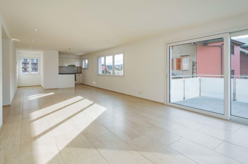 Neuwertige 3 1/2-Zimmer-Wohnung in 3-Familienhaus zu vermieten