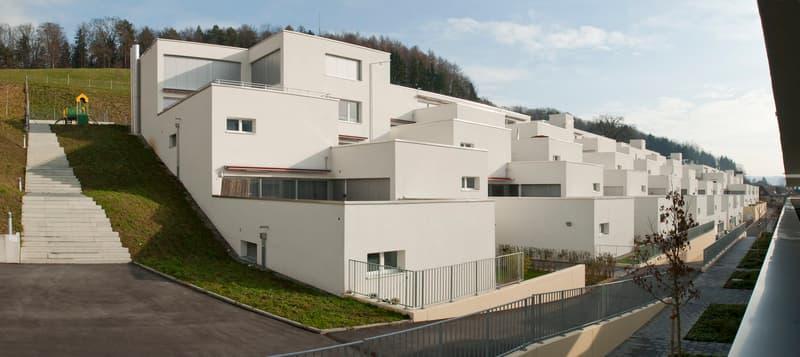 Mit grosser Terrasse, angenehmer Nachbarschaft, interessantem Grundriss