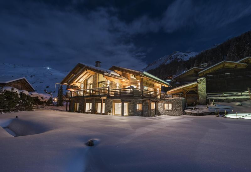 VERBIER - FOR RENT : An extraordinary chalet in the highly exclusive Les Esserts area