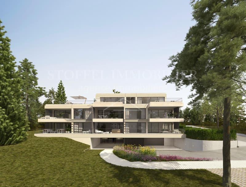 Spacieux appartement de 6 pièces avec grand balcon