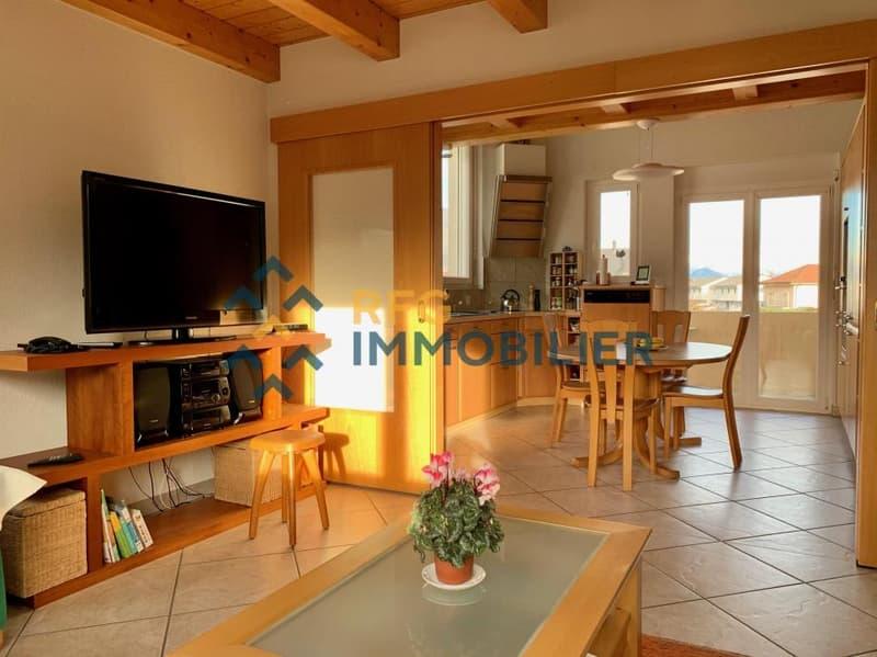 Magnifique appartement de 3,5 pièces à louer à Saillon !