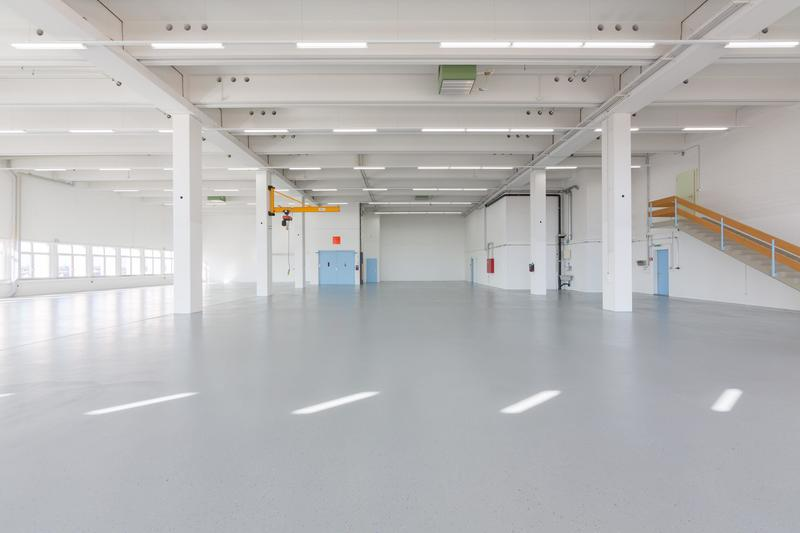Ansprechende Lager- und Fabrikationsräumlichkeiten im St. Galler Rheintal