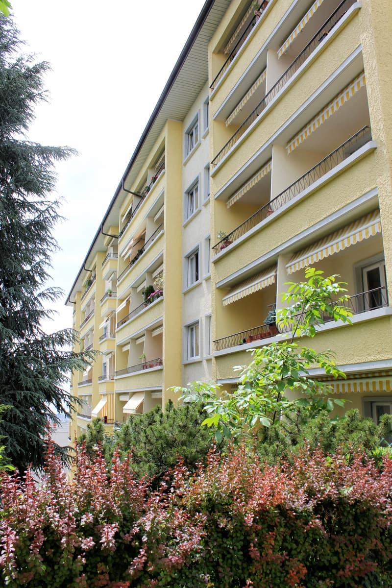Bel appartement lumineux, spacieux et bien situé
