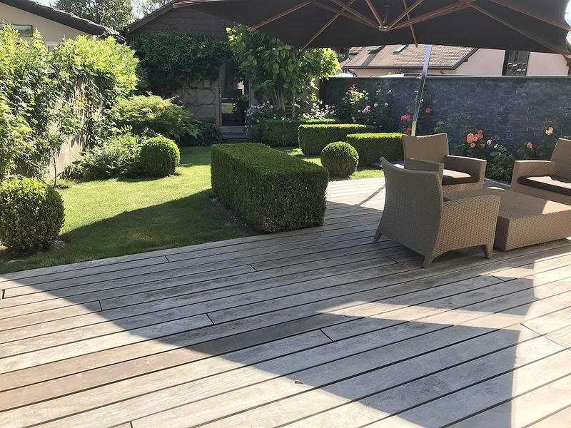 Appartement meublé avec jardin