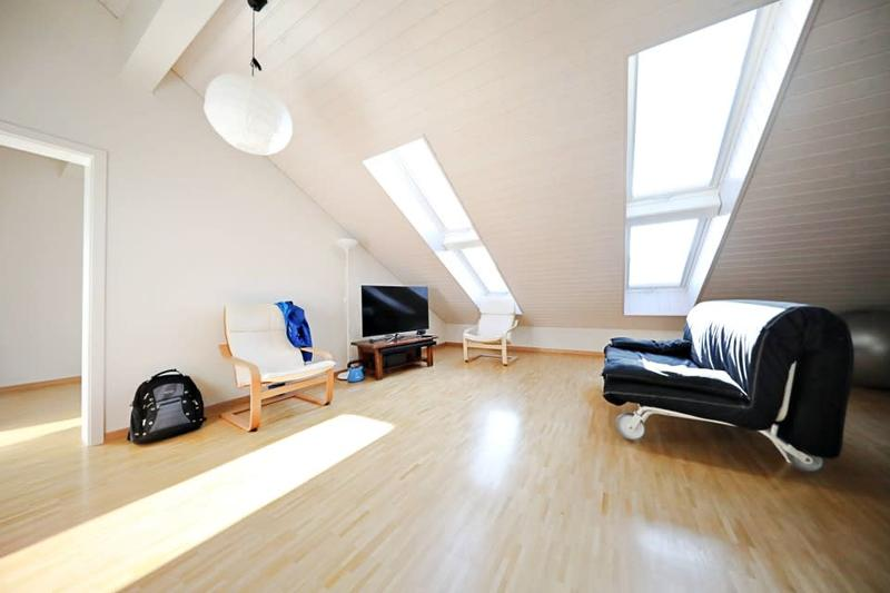 Magnifique appart en attique 2,5 p / 1 chambre / 1 SDB