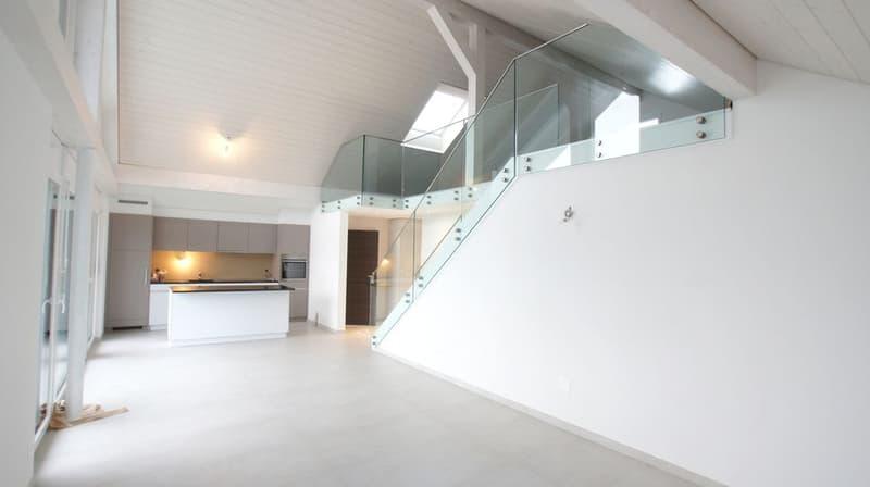 Appartement 4.5 pces en attique avec terrasse à Marnand / VD