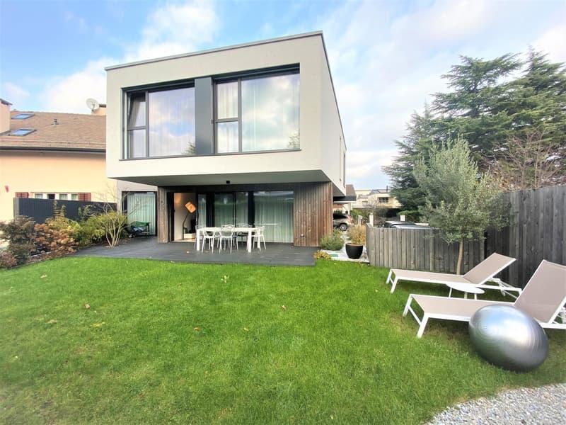 Belle maison moderne de 6 P à Plan Les Ouates. (1)