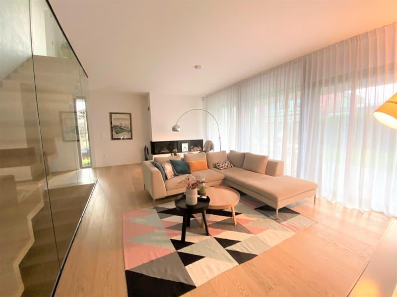Belle maison moderne de 6 P à Plan Les Ouates. (2)