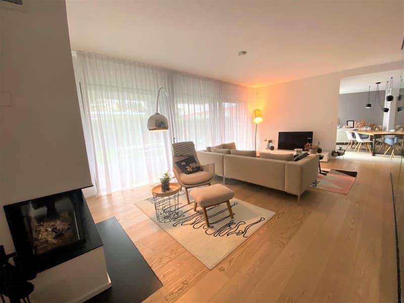 Belle maison moderne de 6 P à Plan Les Ouates. (3)