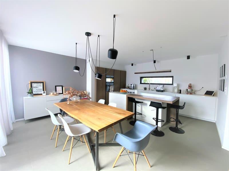 Belle maison moderne de 6 P à Plan Les Ouates. (4)