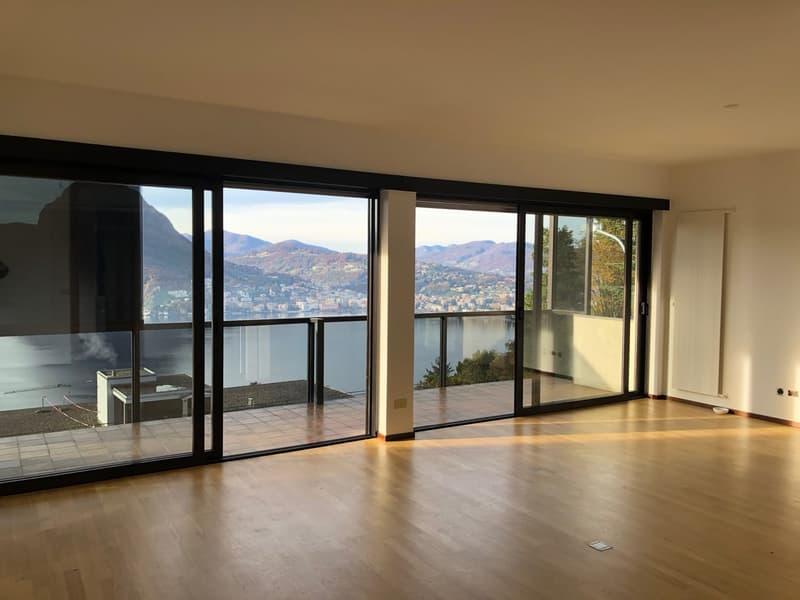 Bellissimo appartamento vista lago