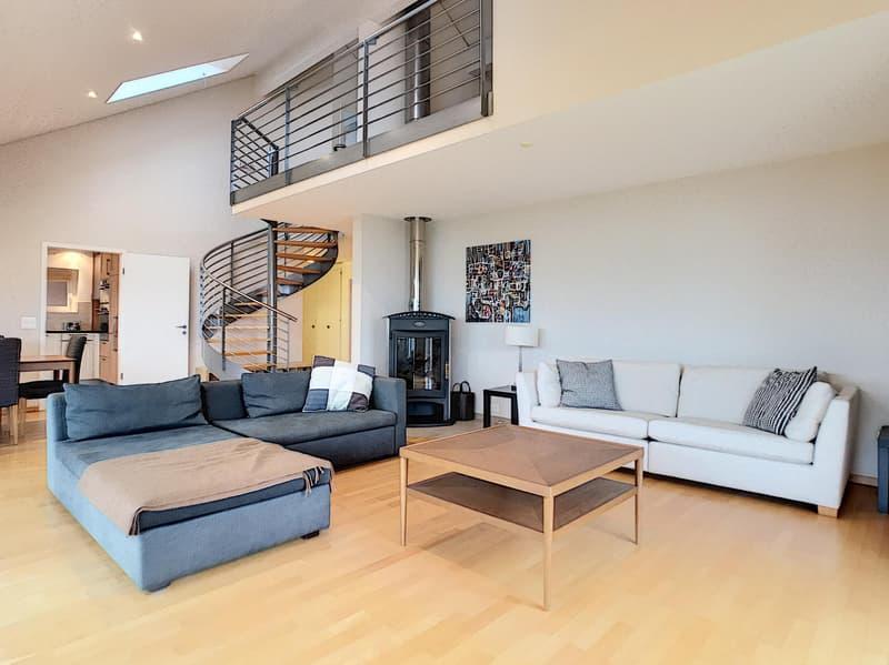 Beaux duplex meublé de 5 chambres