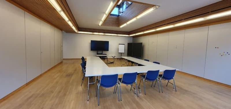 Sitzungs-/Schulungsraum 95m2 ? halb-/ganztags/abends mieten